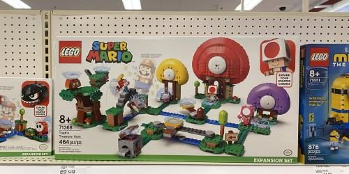 FREE $10 Target Gift Card w/ $50 LEGO Purchase | Nintendo, Disney, Star Wars & More