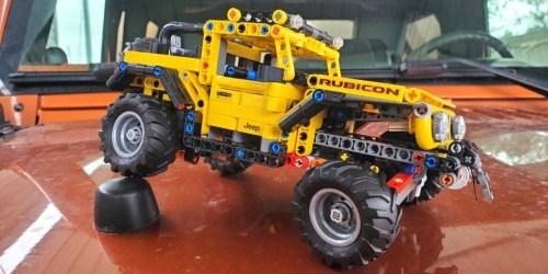 LEGO Technic Jeep Wrangler Set Only $39.99 Shipped on Amazon (Regularly $50)