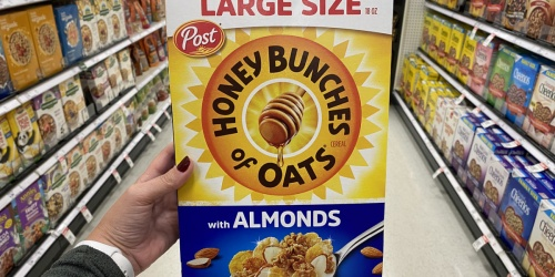 Large Post Honey Bunches of Oats Cereal 18oz Box Just $2.54 Shipped on Amazon