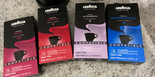 Lavazza Espresso Capsules 60-Count Variety Pack from $18.52 Shipped on Amazon (Just 31¢ Per Cup)