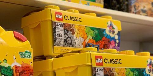 LEGO Classic Medium Creative 484-Piece Brick Box Only $21 on Amazon or Target.com (Regularly $35)
