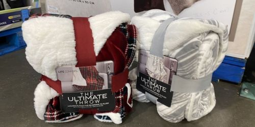 Life Comfort Ultimate Reversible Throw Only $11.99 at Costco (Regularly $17)