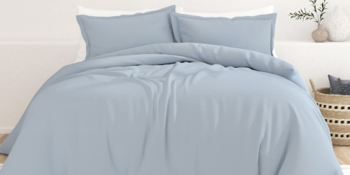Linens & Hutch 3-Piece Duvet Cover Set in All Sizes Only $25 Shipped (Regularly $105)