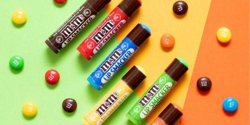 Lip Smacker M&M's Lip Balm 8-Pack Only $5 Shipped on Amazon (Regularly $10)
