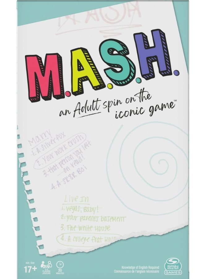 m.a.s.h. adult party game from walmart