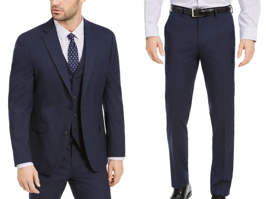 alfani suit jacket and slim fit pants