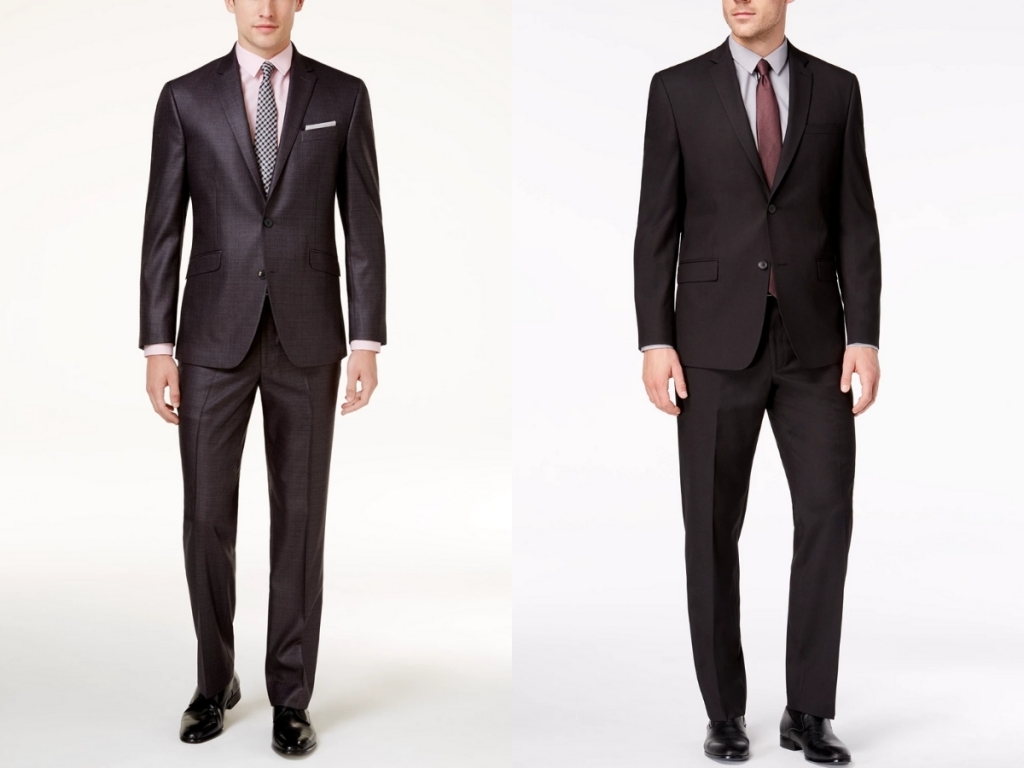 macy's men's kenneth cole and marc new york suits