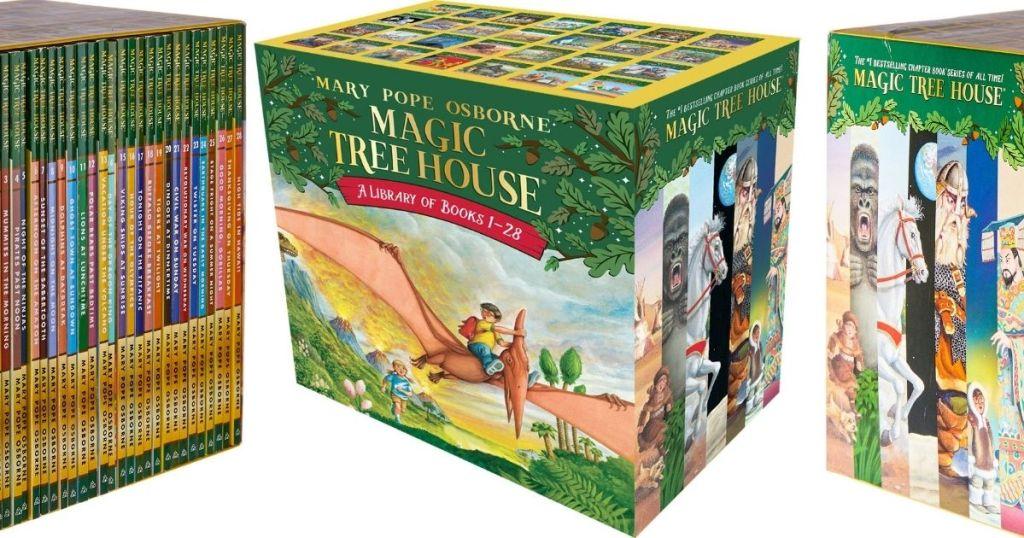 Magic Treehouse Boxed Set