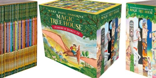 Magic Tree House Books 1-28 Boxed Set Only $52 Shipped on Amazon (Regularly $168)