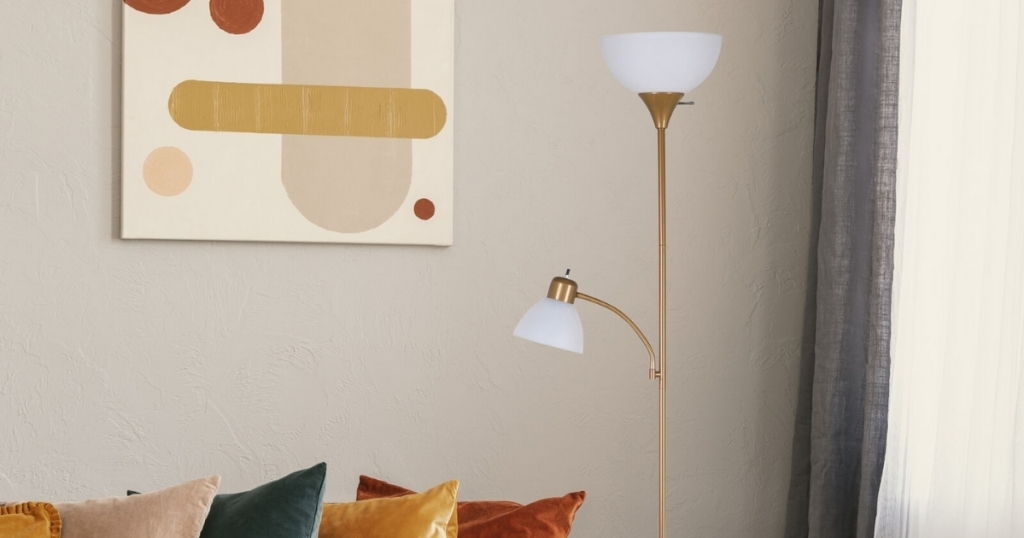 mainstays 72 inch combo lamp from walmart