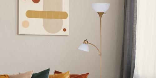 Mainstays 72″ Floor Lamp Only $11.44 on Walmart.com