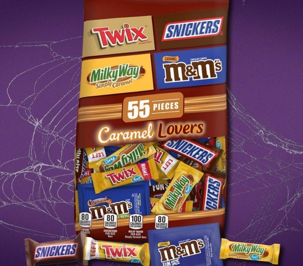 Mars Caramel Lovers 55-Piece Candy