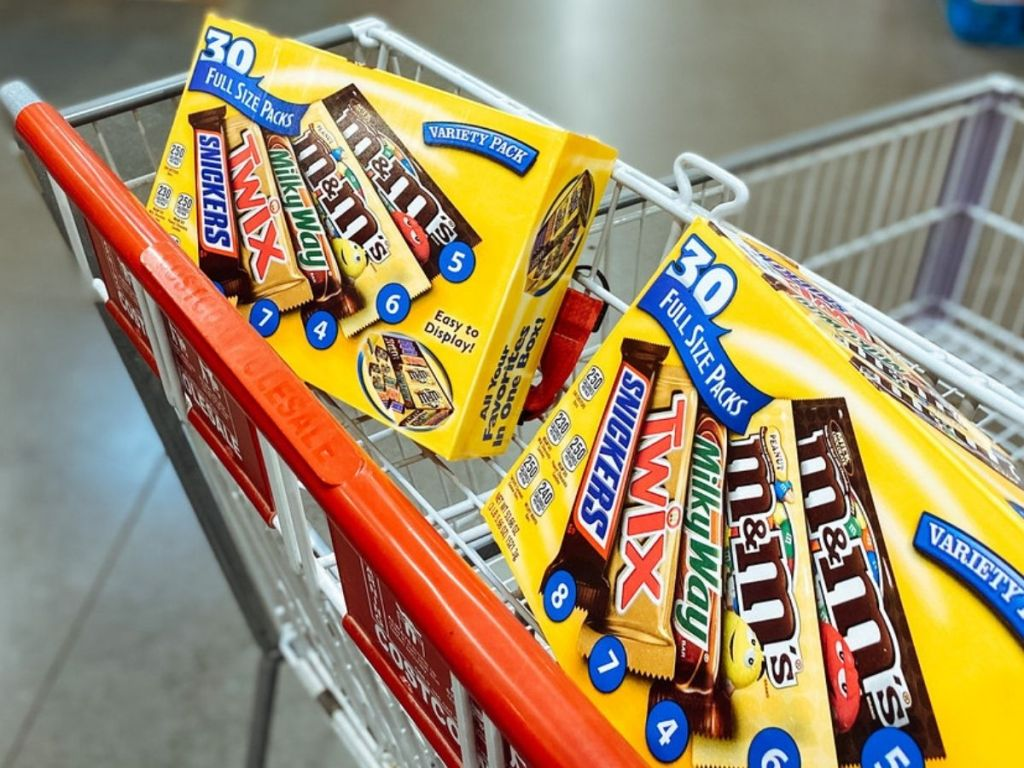 Mars Full Size Candy Bars