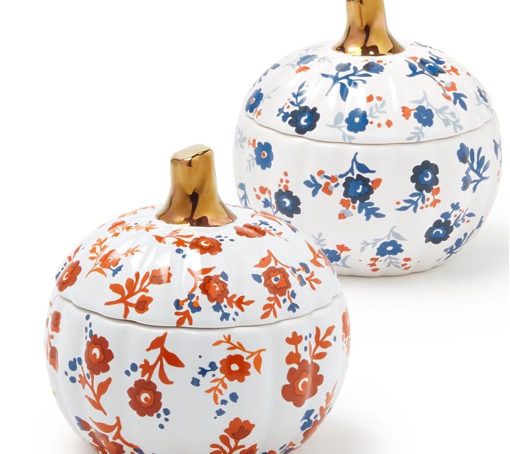 Martha Stewart Collection Harvest Pumpkin Cocottes Set of 2