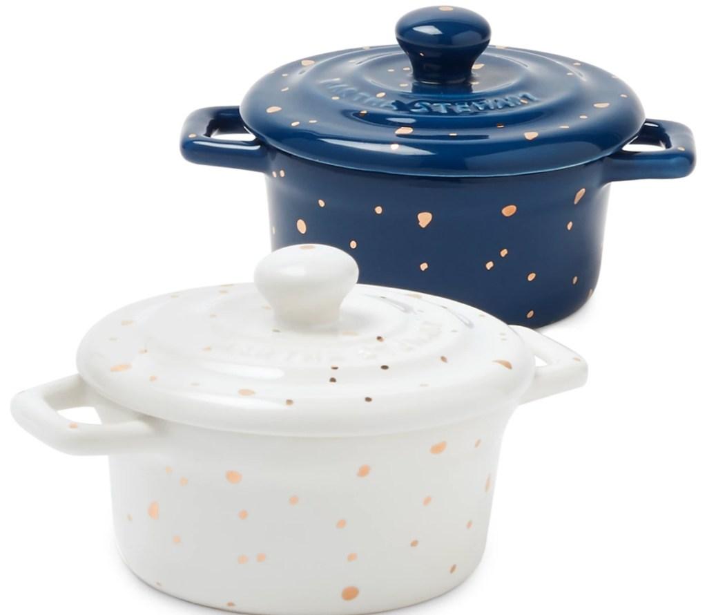 Martha Stewart Collection Harvest Speckle Cocottes
