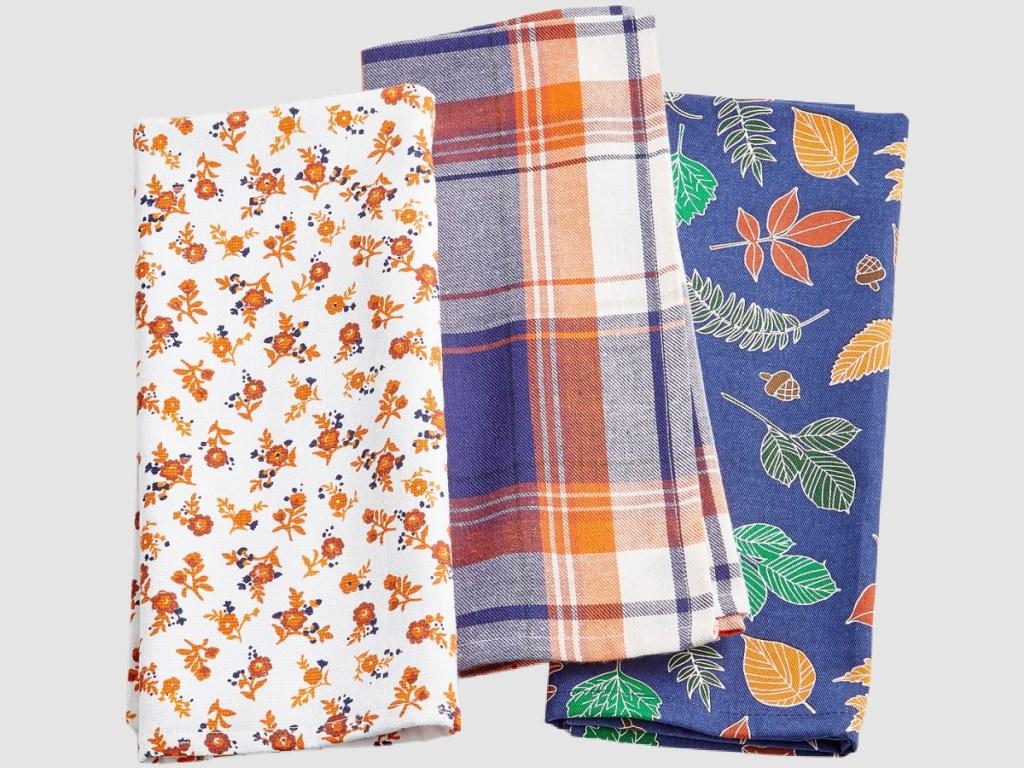 Harvest kitchen towels