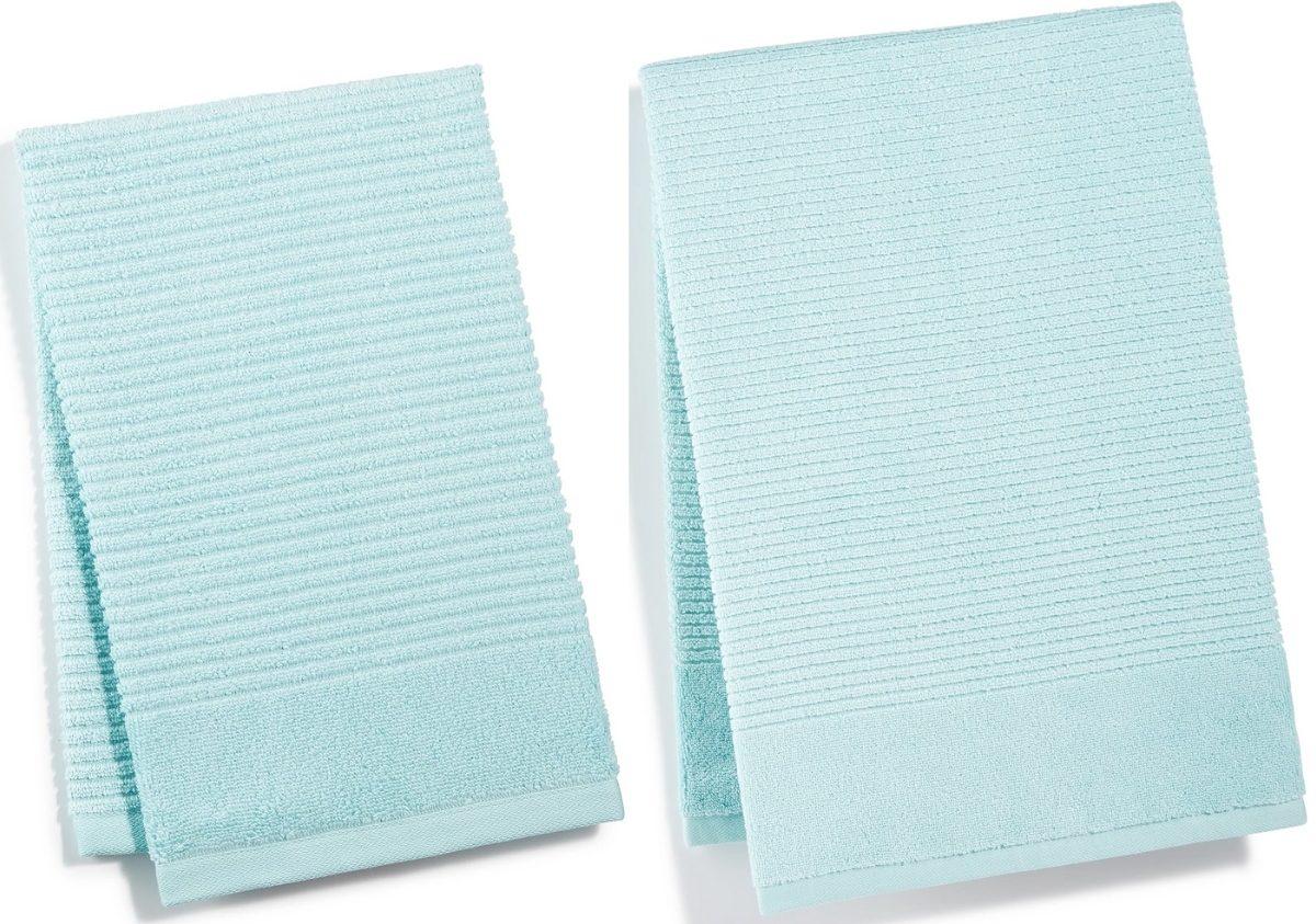 aqua blue martha stewart quick dry towels
