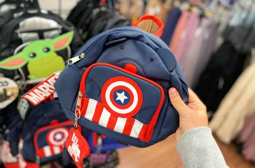 Marvel Captain America Mini Backpack