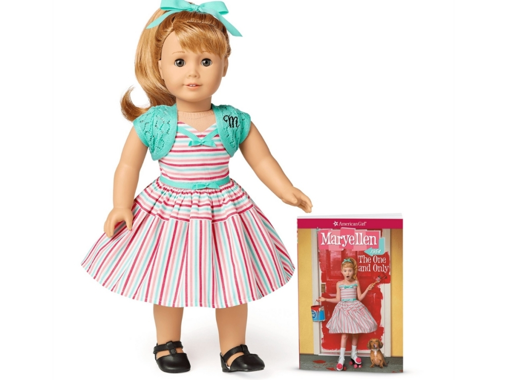 maryellen american girl doll with book