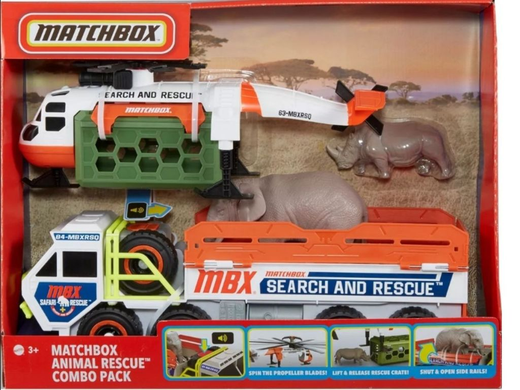 Matchbox Animal Rescue Combo Pack
