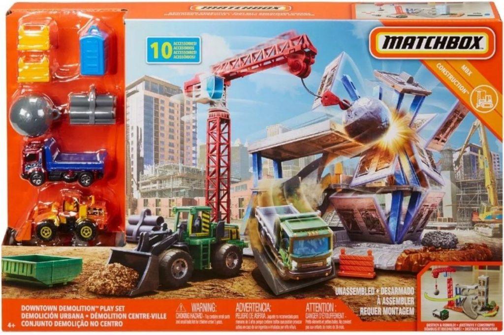 Matchbox Downtown Demolition
