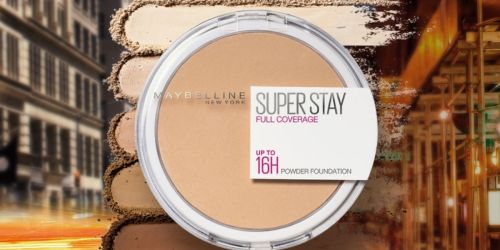 Maybelline Super Stay Powder Foundation Only $3.96 Shipped on Amazon (Regularly $10)