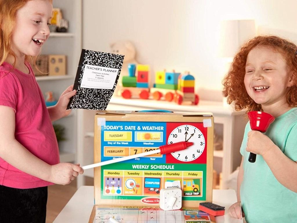 melissa and doug school time play kit