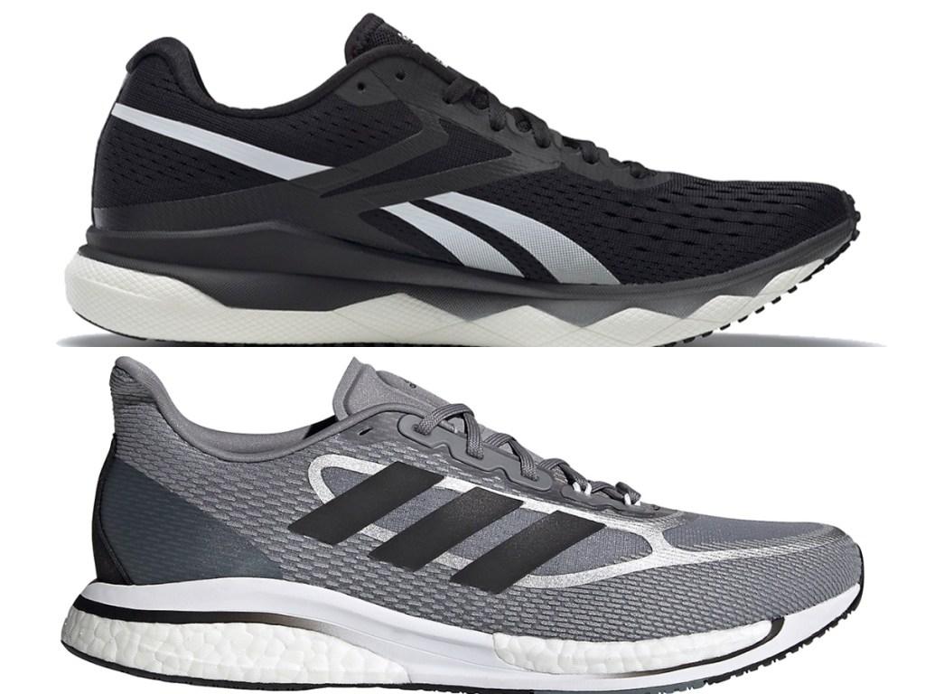 men's reebok running shoes and adidas supernova running shoe
