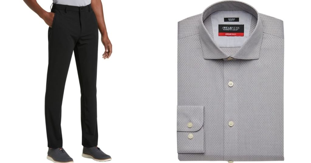 man wearing pants and a shirt