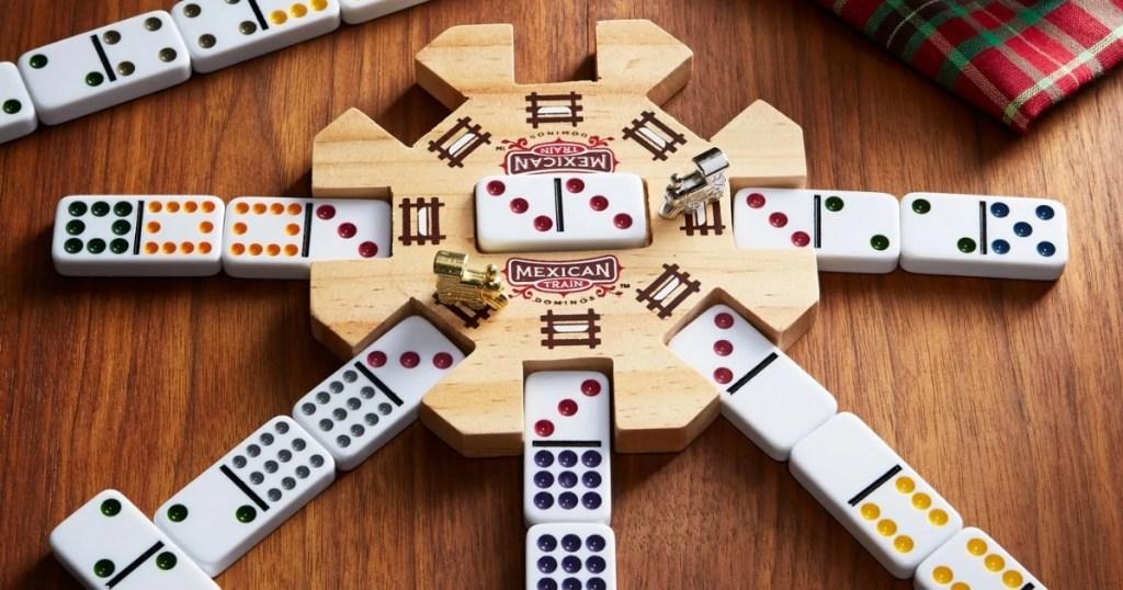 mexican train domino game