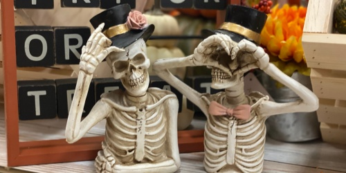 Posing Skeletons Just $6.99 at Michaels   In-Store Only