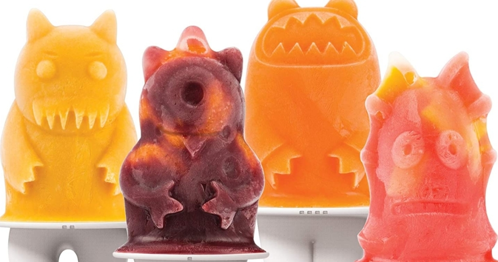 monster ice pop molds from tovolo