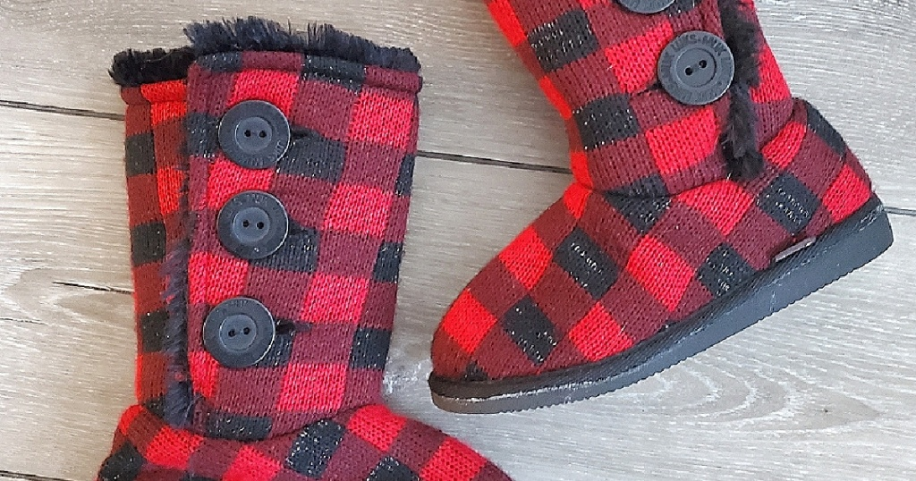 Muk Luks Girls Boots From $8.99 On Zulily.com (regularly $44)   Includes Fun Carnal Styles