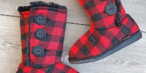 Muk Luks Girls Boots from $8.99 on Zulily.com (Regularly $44)   Includes Fun Animal Styles