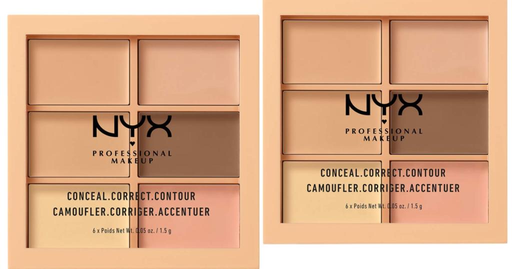 NYX Eye Palettes stock images