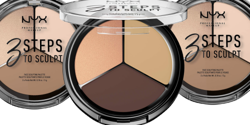 NYX Professional Makeup Contour Palette Only $2.54 Shipped on Amazon (Regularly $12)