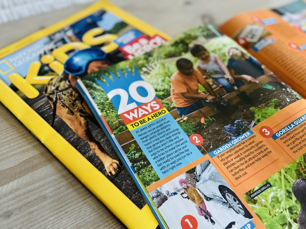 kids national geographic magazine
