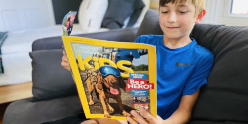 National Geographic Kids Magazine 1-Year Subscription Only $20 | Just $2 Per Issue
