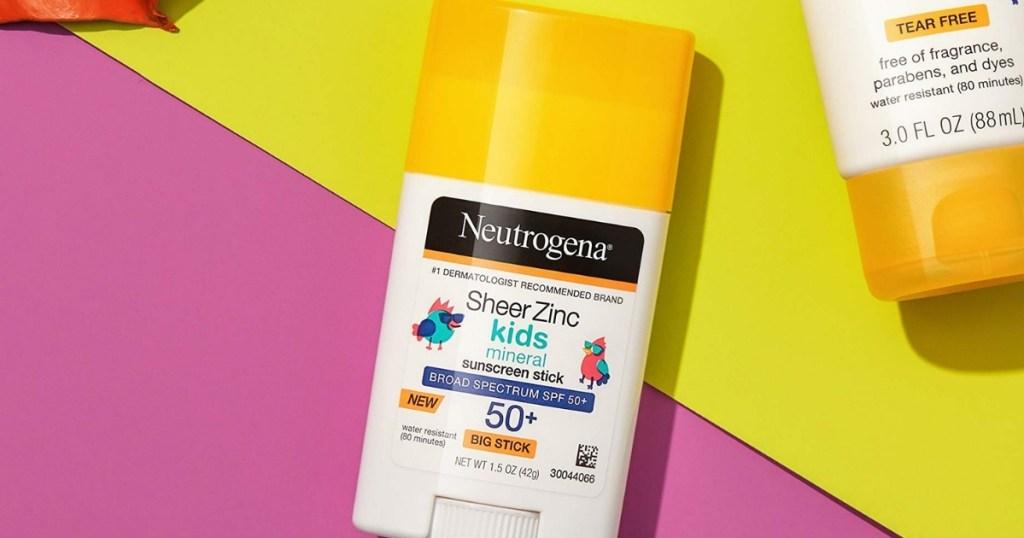Neutrogena Sheer Kids Sunscreen Stick
