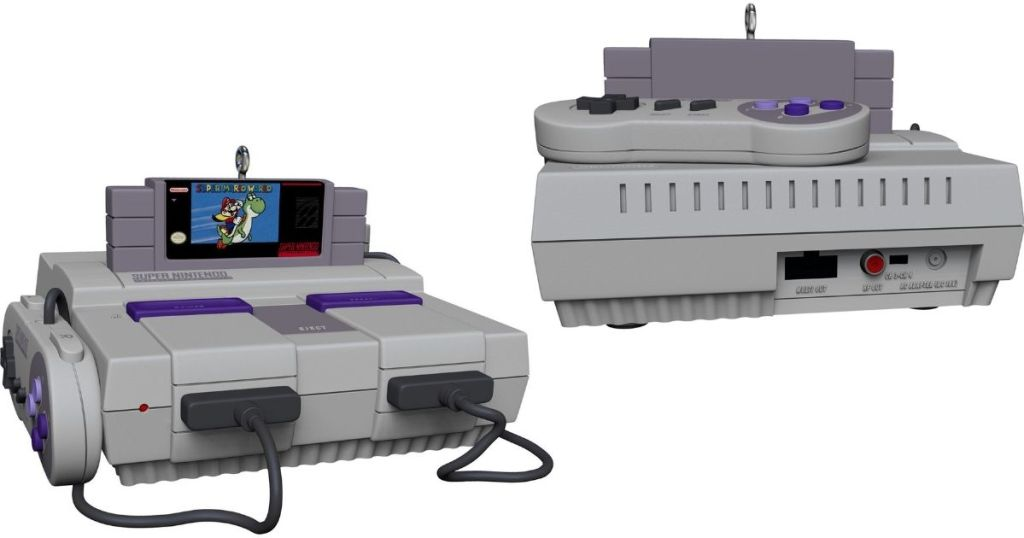 Nintendo SNES Ornaments