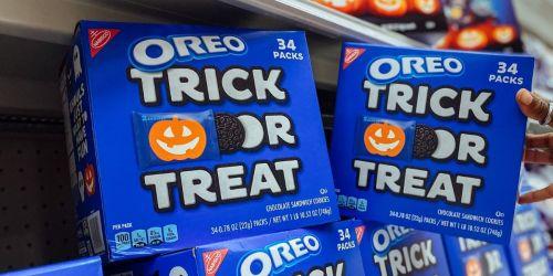 30% Off Halloween Snack Multipacks on Target | OREO's, Fruit Snacks, Veggie Chips & More