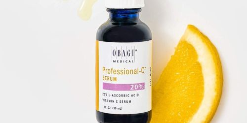 50% Off Obagi Professional Vitamin C Serum + Free Shipping on Amazon | Reduces Early Signs of Aging