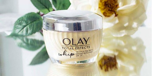 Olay Total Effects Whips Moisturizer w/ SPF Only $13 Shipped (Regularly $39)
