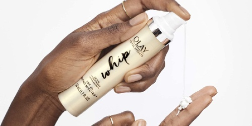 Olay Whip Face Moisturizer w/ SPF 40 Only $12 Shipped on Amazon (Regularly $29)