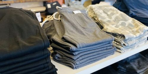 Old Navy Fleece Joggers & Sweatpants for the Family from $12 (Regularly $30)