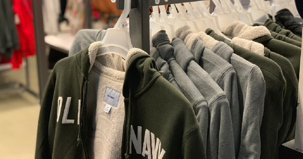 50% Off Old Navy Sweatshirts, Hoodies & Tops For The Household