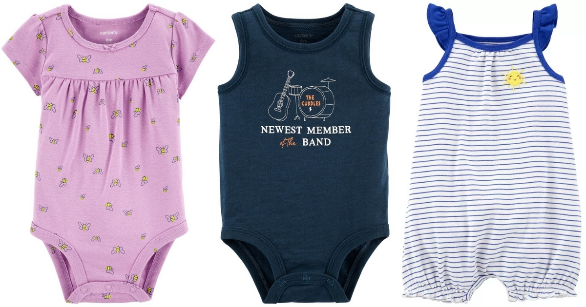 oshkosh baby bodysuits