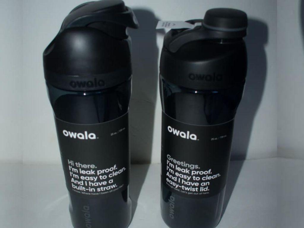 Owala water bottles