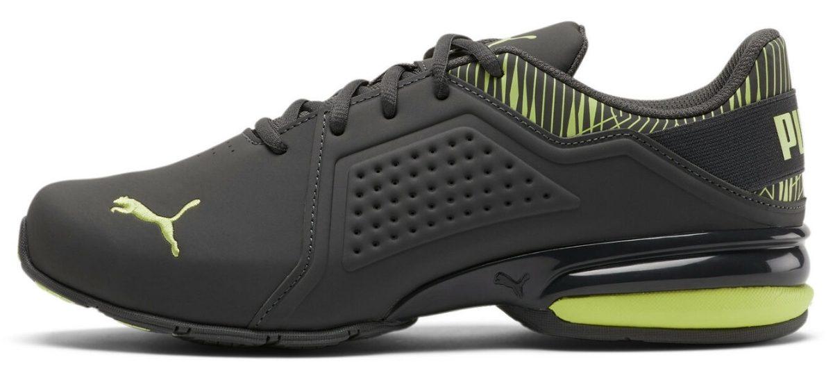 puma men's viz runner graphic shoes