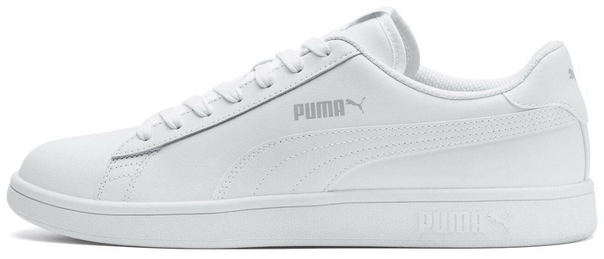 puma men's white v2 sneakers